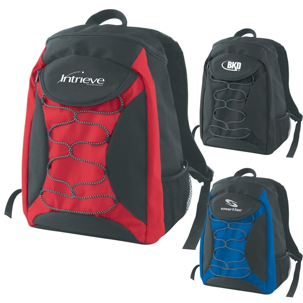 Apollo - Backpack Made Of Polyester Material With Zippered Main Compartment Photo