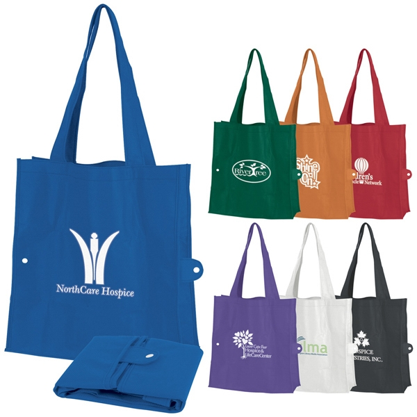 Tuck-fold - Tote Bag Made Of Non-woven Material, Folds Up For Travel Photo