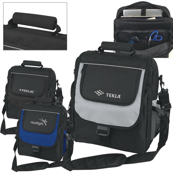 Computer Bag With Vertical Design With Removable Computer Sleeve Inside Photo