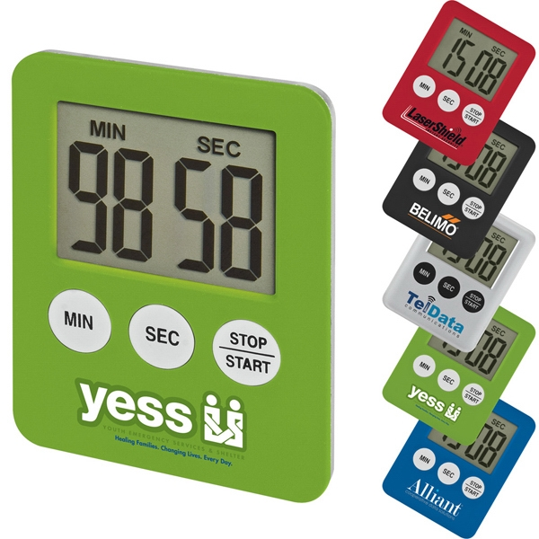Tiny Tot - Magnetic Timer With Large Digital Display Photo