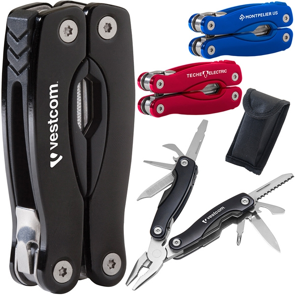 Gripper - Multi-tool With Stainless Steel Body And Rugged Aluminum Case With Anodized Finish Photo