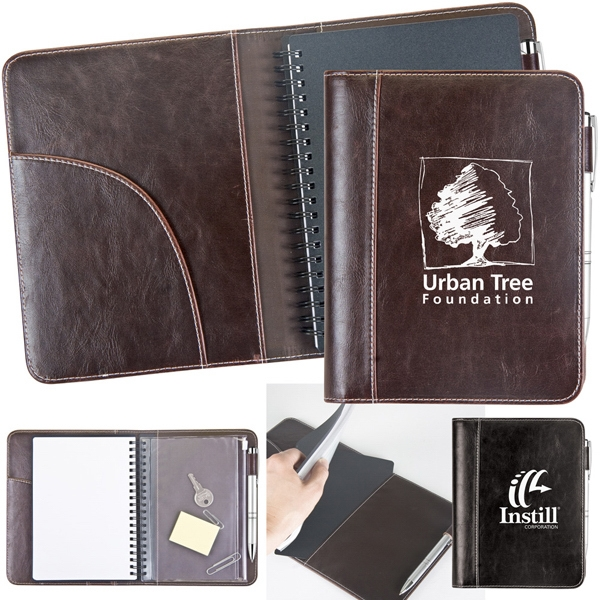Viceroy Jr. - Portfolio Has Leatherette Notebook Cover With A Large Pocket On The Inside Photo