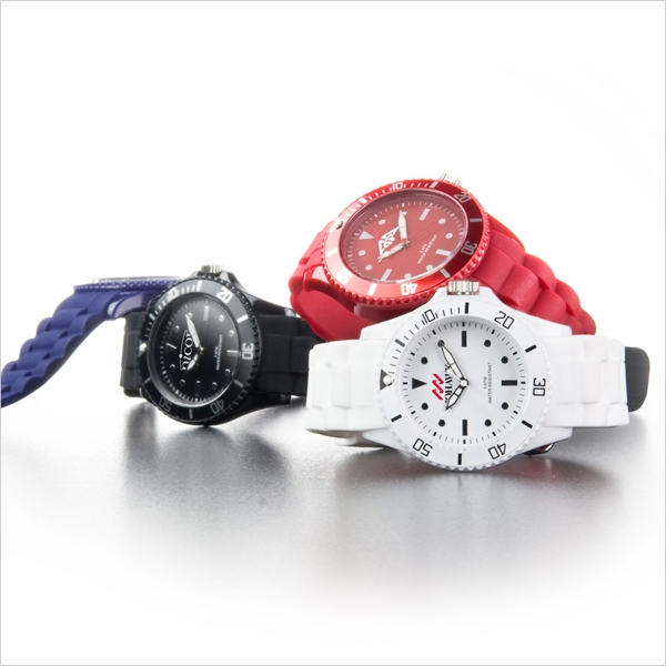 Infinity - Analog Wrist Watch With Second Hand, Silicone Strap And Japan Date Movement Photo