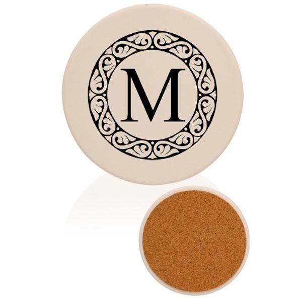 Round Ceramic Coaster