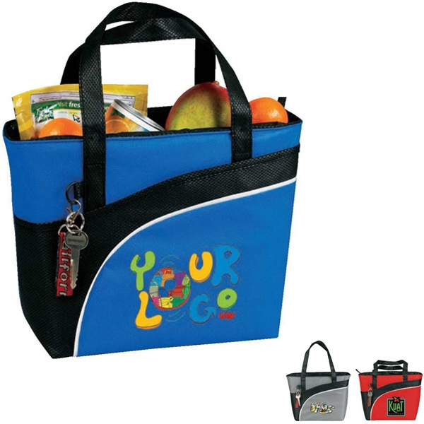 Egreen - 12-pack Plus Cooler Tote. 90g Non-woven Polypropylene. Insulated Photo