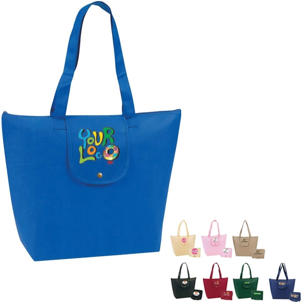 Egreen - Fold-up Tote. 90g Non Woven Polypropylene Photo