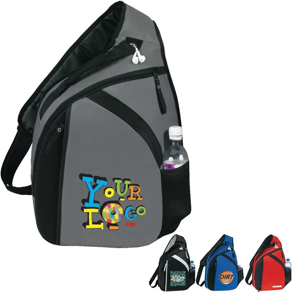 "Cross (r) - Laptop Mono Strap Backpack. Poly 300d Ripstop Pu. Fits 15.6"" Laptop Photo"