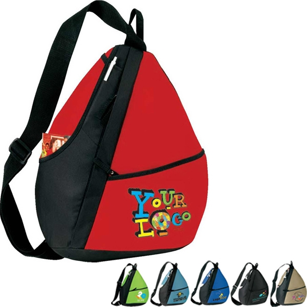 "Elite (r) - Sling Backpack. Poly 600d. Approximate Size: 14"" X 18"" X 5.5"" Photo"