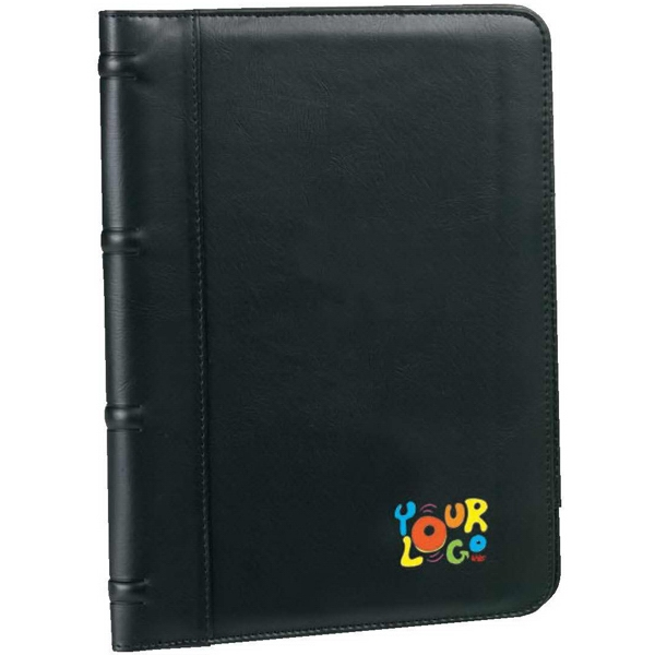 Executive Writing Pad. G-9 Soft Leatherette. Includes One Notepad And Pen Photo