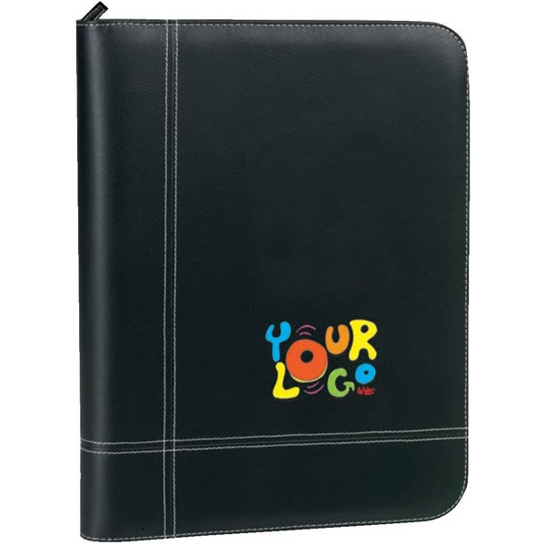 Elite (r) - Padfolio. G-9 Soft Leatherette. Includes A Solar Calculator Photo