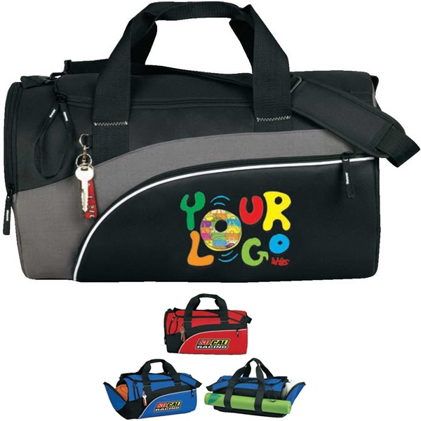 "Infinity - All-purpose Duffle. Poly 600d Plus Ripstop. Approximate Size: 20"" X 12"" X 12"" Photo"
