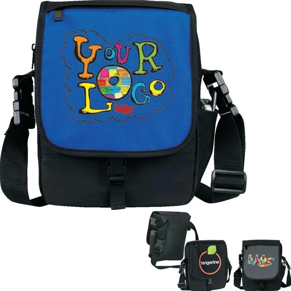 "Deluxe Guide Bag. Poly 600d. Approximate Size: 8"" X 10.5"" X 2.75"" Photo"