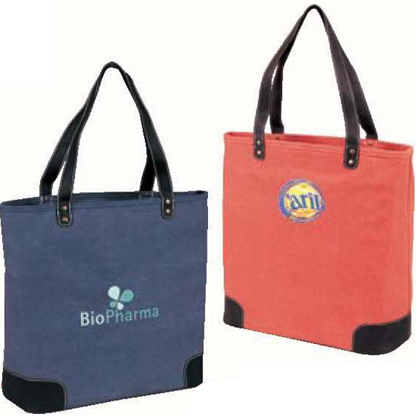 Urban - Canvas Tote. Pre-washed Canvas With Backing. While Supplies Last Photo