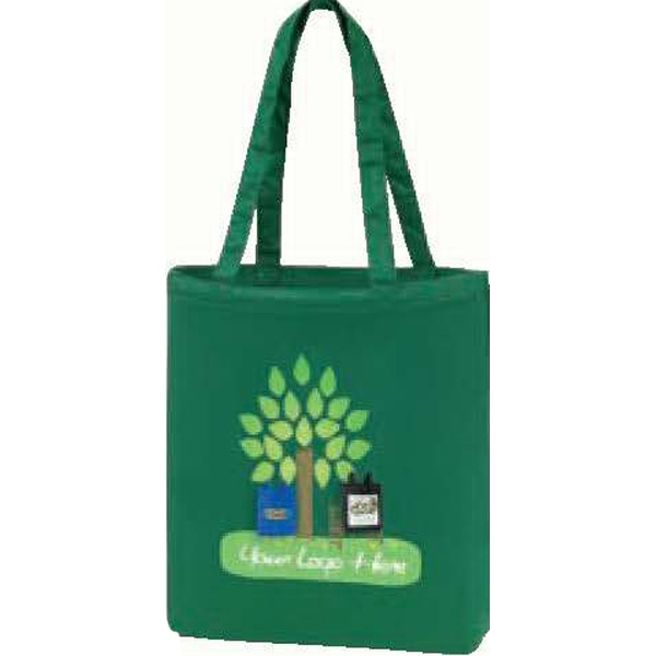 Egreen - Promotional Color Canvas Tote. Light Weight Cotton Canvas. While Supplies Last Photo