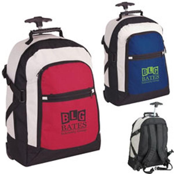 Tri-Color Rolling Rucksack