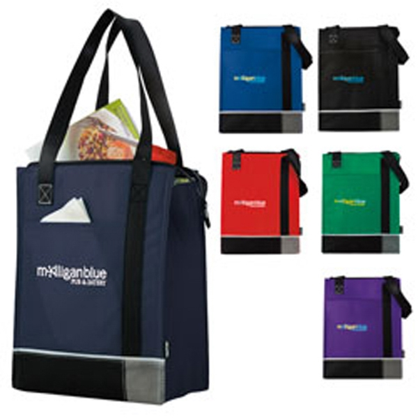 Koozie (r) Tri-tone - Tri-tone Lunch Sack Made Of Non-woven Polypropylene; 10 Can Capacity Photo