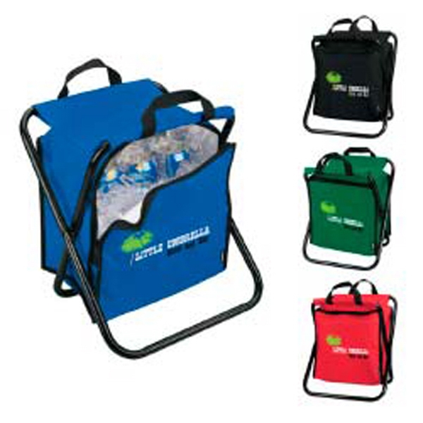 Koozie (r) Kooler - Chair Cooler, Holds 12 Cans Plus More. Holds 250 Pounds Photo