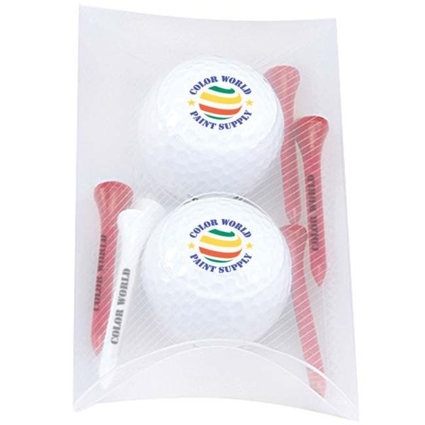 2 Ball Pillow Pack - Wilson (R) Ultra 500