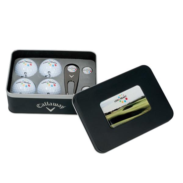 Callaway (R) 4-Ball Gift Tin