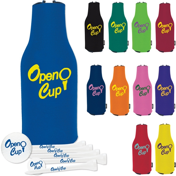 Zip Up KOOZIE  (R) Deluxe Golf Event Kit - DT (R) Solo