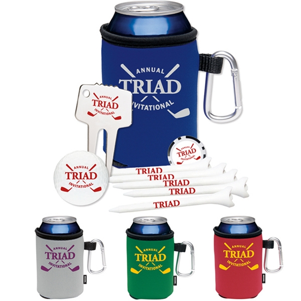 High Rollers KOOZIE (R)) Golf Event Kit - DT (R) Trusoft