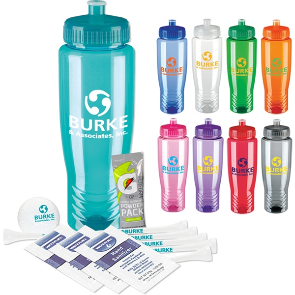 Sports Bottle Deluxe Golf Event Kit