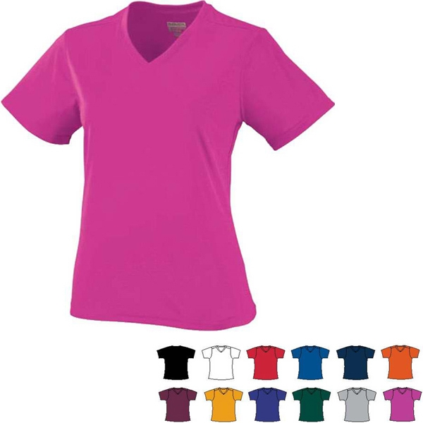 Girls Polyester Performance Jersey. Sold Blank Photo