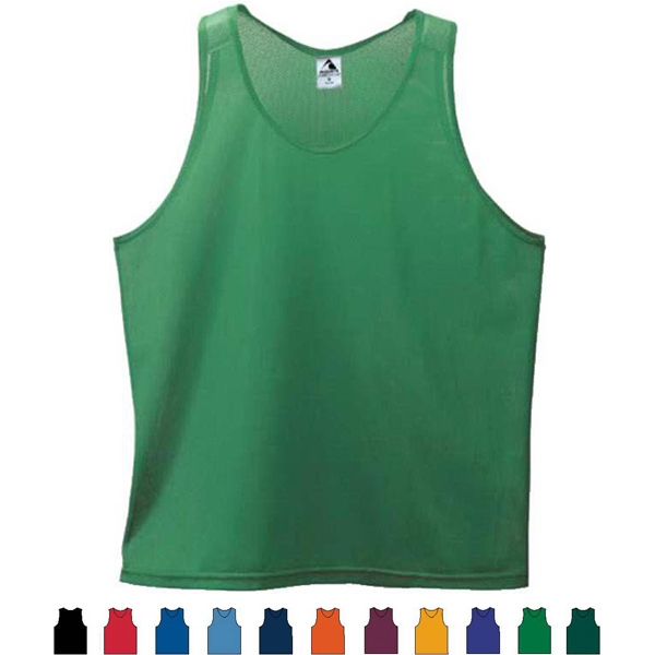 Youth Mini Mesh Singlet Tank Top. Sold Blank Photo