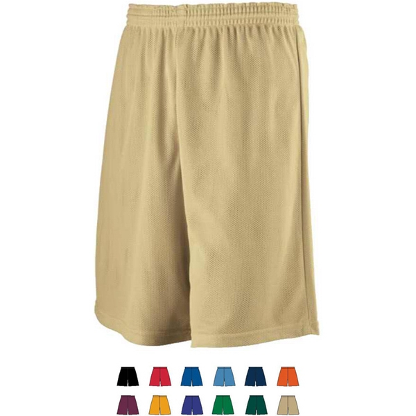 Youth Longer Length Mini Mesh League Short. Sold Blank Photo
