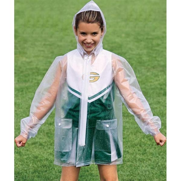 Adult Clear Rain Jacket