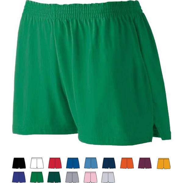 2 X L - Ladies Junior Fit Jersey Short. Sold Blank Photo