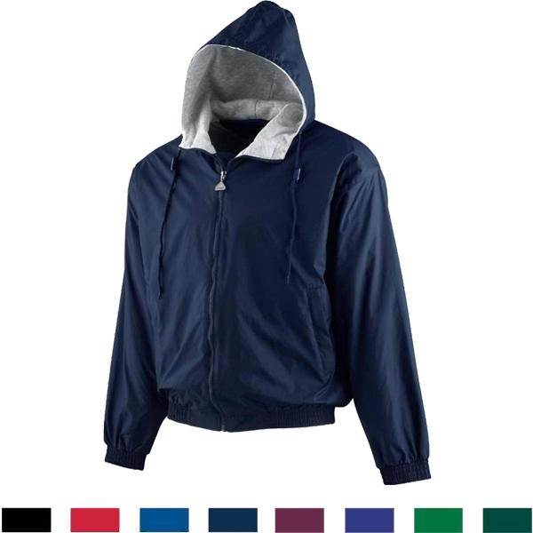 Adult Hooded Taffeta Jacket/Fleece Lined