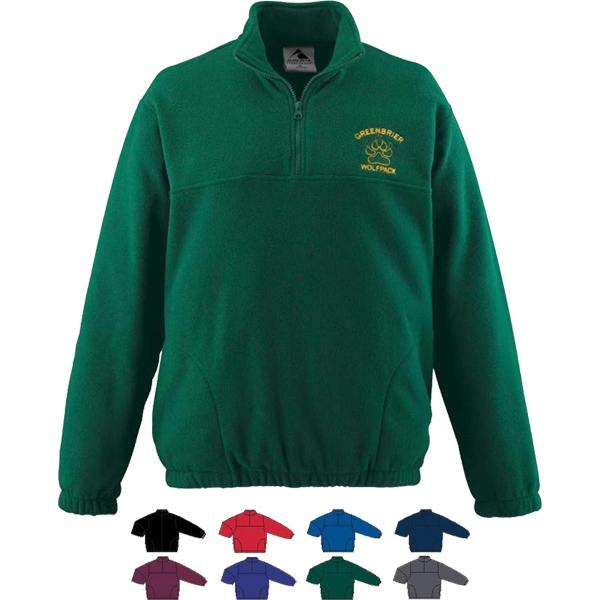 Adult Fleece Half-Zip Pullover