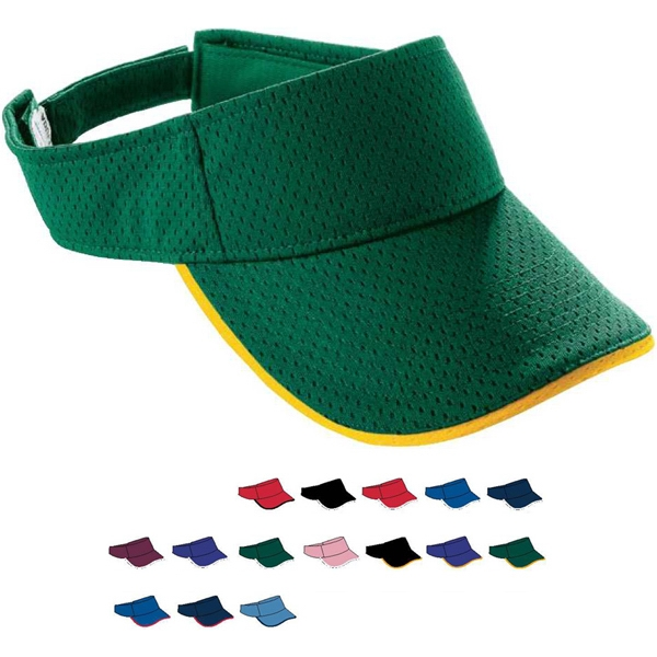 Adult Athletic Mesh Two-Color Visor