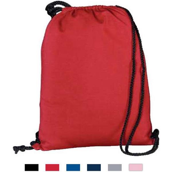 Athletic Fleece Drawstring Backpack