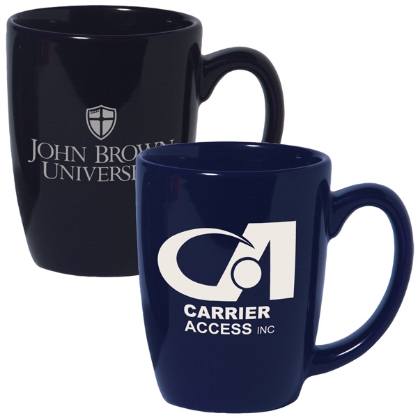 12 Oz. Ceramic Challenger Coffee Mug; Colors - On Special Photo