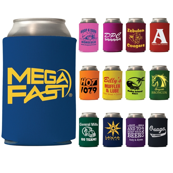 Coolie - Mega Collapsible Can Cooler, Solid Colors -mega Special Photo