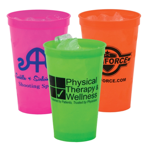22 Oz. Neon Stadium Cup Photo