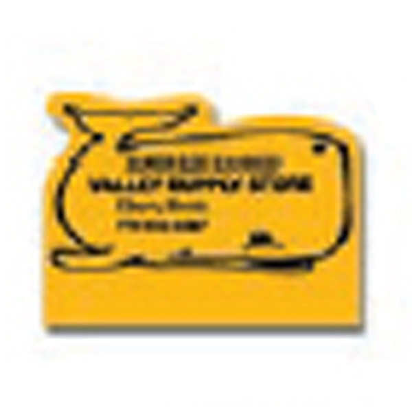 "Value Stick (tm) - 3"" X 2 1/4"" Standard Pad - Whale - Vinyl Self Adhering Calendar With Standard 13-month Calendar Pad Photo"