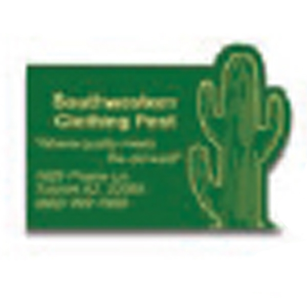 "Value Stick (tm) - 3"" X 3 7/8"" Larger Pad - Cactus - Vinyl Self Adhering Calendar With Standard 13-month Calendar Pad Photo"