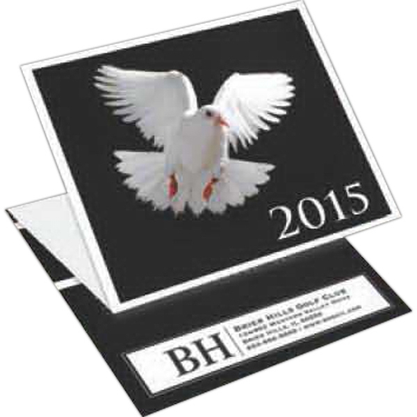 Dove - Tri-fold Calendar With Stock Design Photo