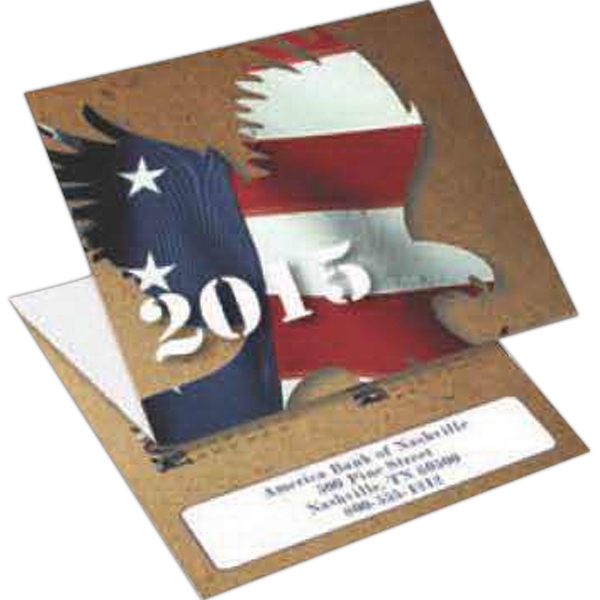 Eagle - Tri-fold Calendar With Stock Design Photo