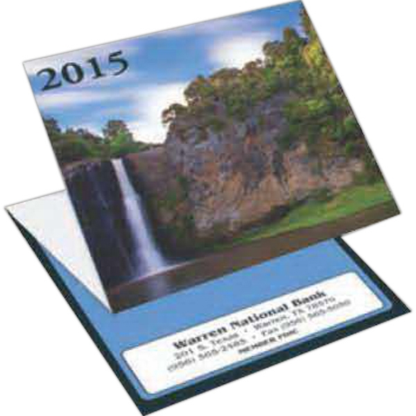 Rockcliff - Tri-fold Calendar With Stock Design Photo