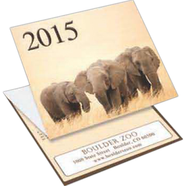 Wildlife - Tri-fold Calendar With Stock Design Photo