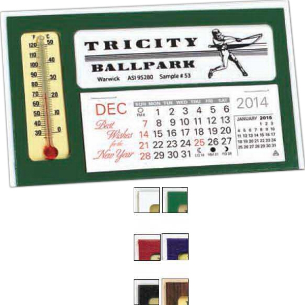 The Window - Desk Calendar With Thermometer And Monthly Pad Photo