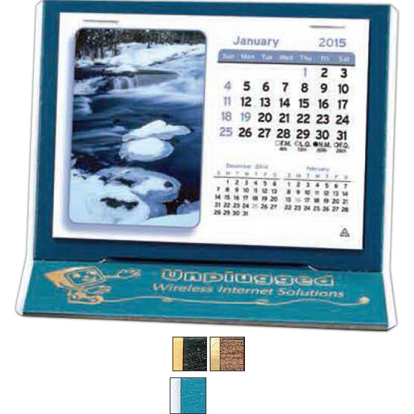 "The Mantique - Monthly Desk Calendar With 4 3/8"" X 3 1/4"" Monthly Date Pad Photo"