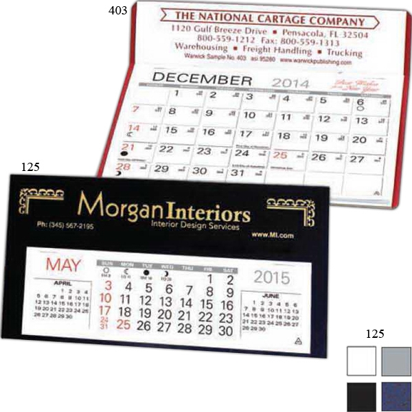 Economizer - Lightweight Desk Calendar With Monthly Date Pad Photo