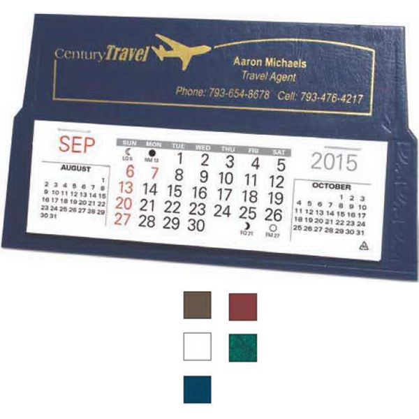 "Ace - Desk Calendar With 5 1/4"" X 1 5/8"" Memo Style Pad Photo"