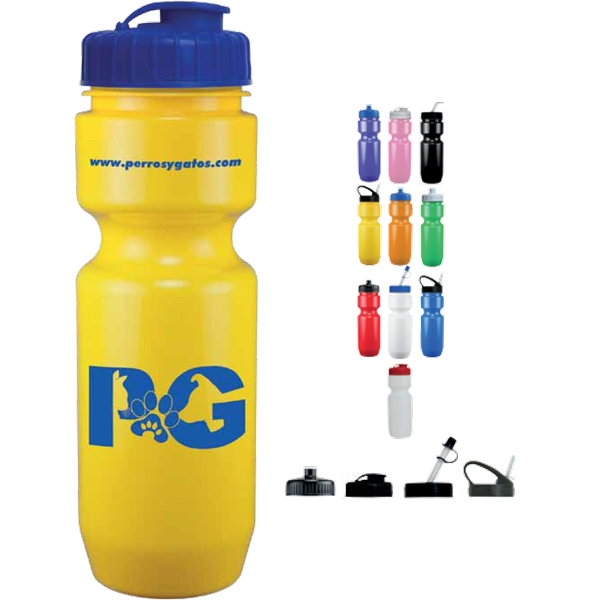 Opaque Sport Bottle. 22 Oz. Bpa Free Photo