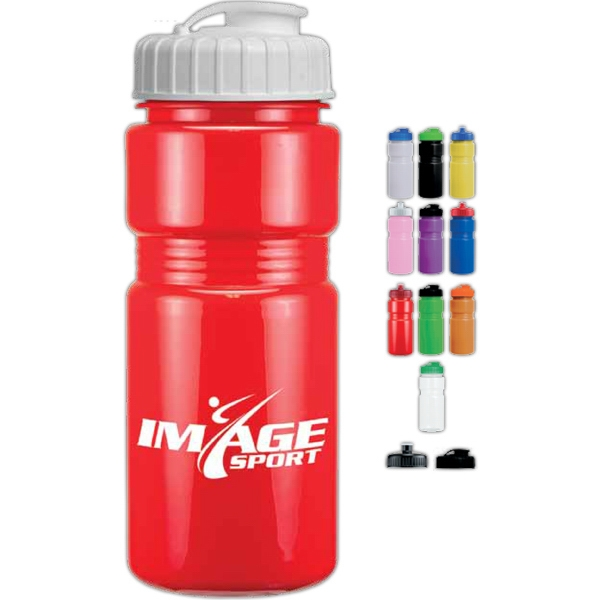 Flip Top Lid - Sports Bottle, 20 Oz Photo